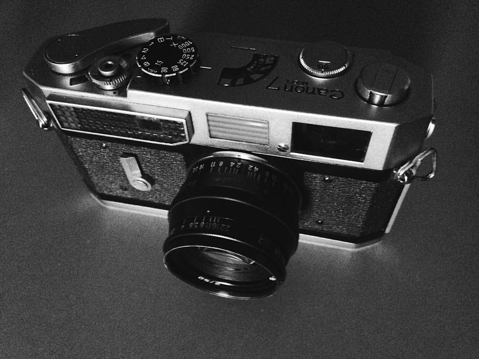 The Canon 7 Rangefinder- best bargain I've found in LTM