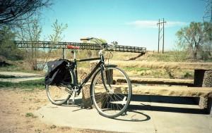 My bike. Ektar.